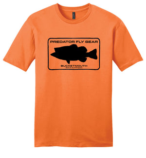 BUCKETMOUTH Casual Tee, Largemouth Bass