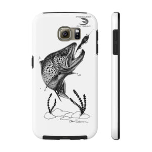 Brown Trout Tough Phone Case