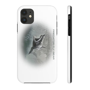 Mako Shark Oval Tough Phone Case