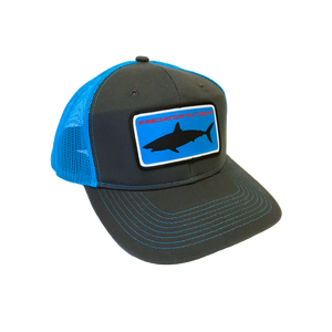 Blue Mako Patch Snapback