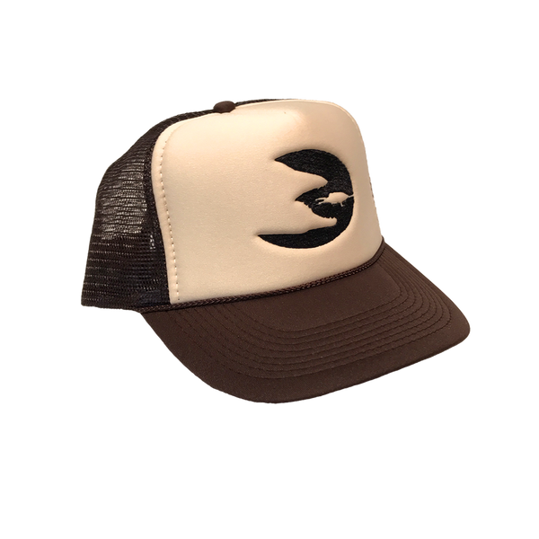 Predator Brown Foam Trucker Hat