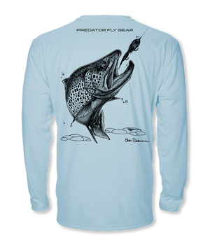 Brown Trout Cool Air Series UPF Shirt