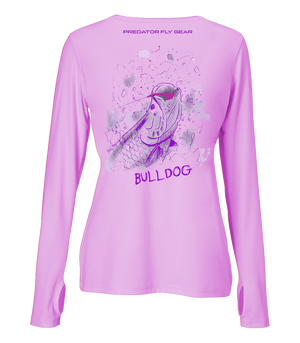 Womens BULLDOG Performance Shirt, Arapaima