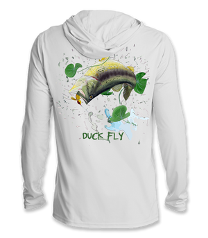 DUCK FLY Technical UPF Hoodie (color)