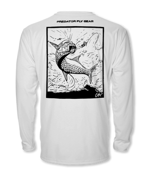 Leaping Tarpon Cool Air Series UPF Shirt
