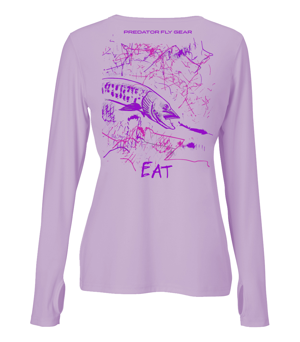 Womens EAT Performance Shirt, Muskie