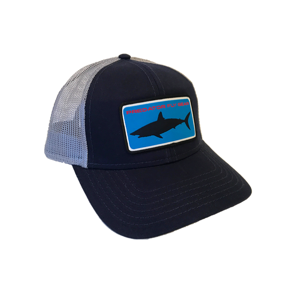 Navy Mako Patch Snapback