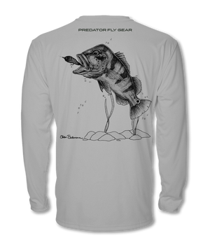 Peacock Bass Cool Air Series UPF Shirt