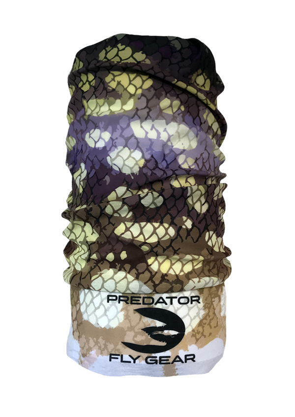 Northern Pike UV Neck Gator, Dark
