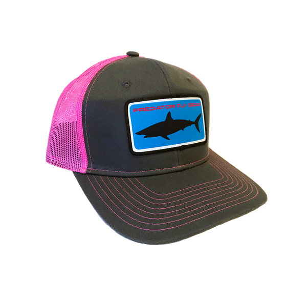 Pink Mako Patch Snapback