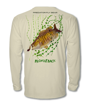 BRONZEBACK, Smallmouth Cool Air Series UPF Shirt