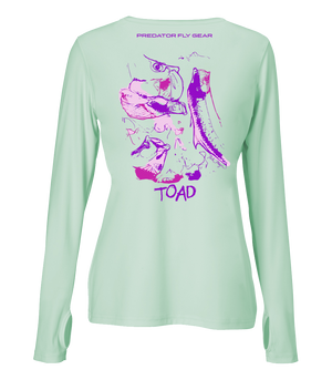 Womens TOAD Performance Shirt, Tarpon