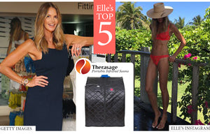 Elle Macpherson puts the Therasage Thera360 Infrared Portable Sauna in her top picks for wellbeing