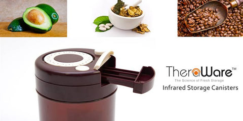 TheraWare - Airtight Food, Hemp & Herb Storage Containers using Infrared Technology