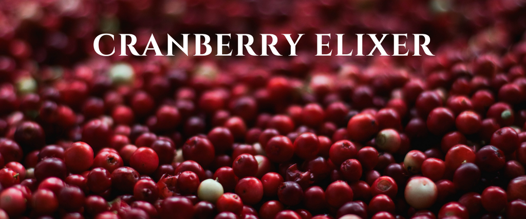 Cranberry Elixer by Chef Collin Goodine - Therasage Blog