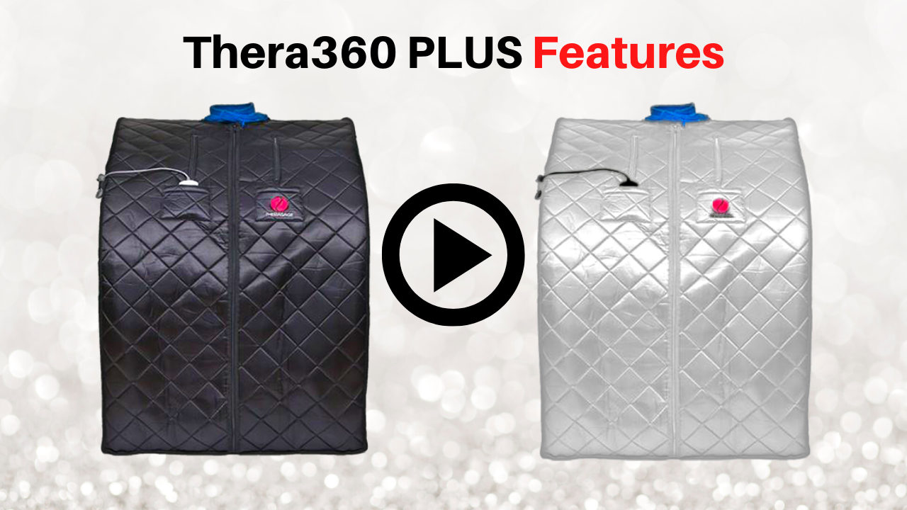 Thera360 Plus Portable Infrared Sauna Features by Therasage