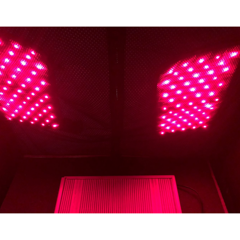 Thera360 Plus - Red Light Panels - Interior View