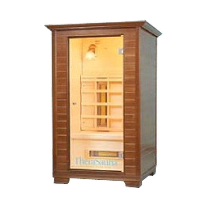 Full Spectrum Infrared Home Sauna- Natural Aspen Wood