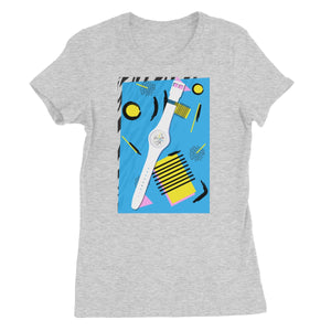 Time Women's Fine Jersey T-Shirt