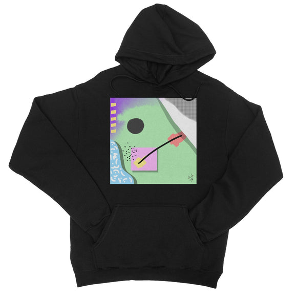 Abstract 4 College Hoodie