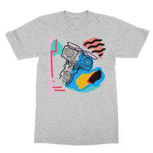 Johnny 5 Is ALIVE! Softstyle T-Shirt