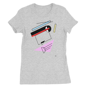 Abstract 2 Women's Fine Jersey T-Shirt
