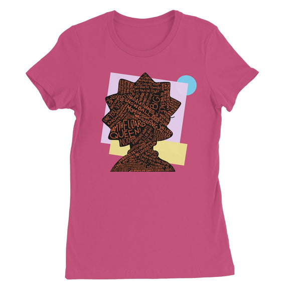I AM THE LIZZARD QUEEN! Women's Favourite T-Shirt