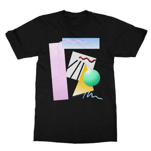 80s Aesthetics Softstyle T-Shirt