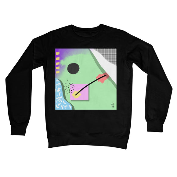 Abstract 4 Crew Neck Sweatshirt