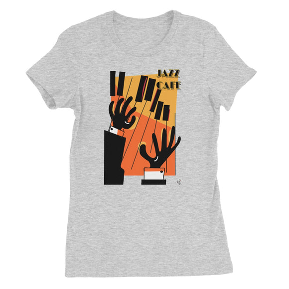 Jazz Cafe Women's Fine Jersey T-Shirt