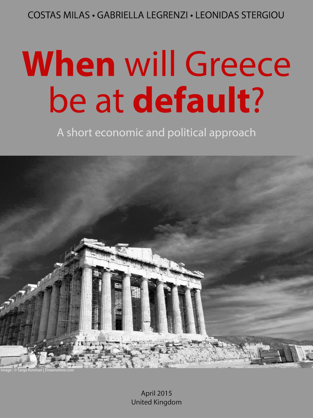 When will Greece be at default?