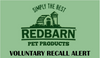 Redbarn Expands Voluntary Recall