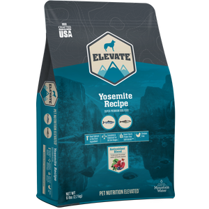 Elevate Dry Dog Food Yosemite Recipe 28 lb bag