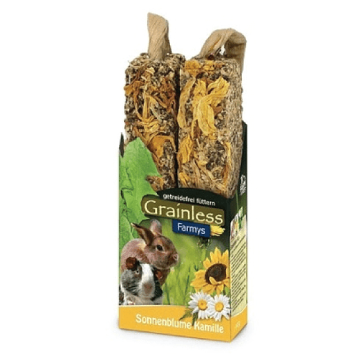 Jrfarm Grainless Farmys Sunflower-Chamomile duo stick - PETTER