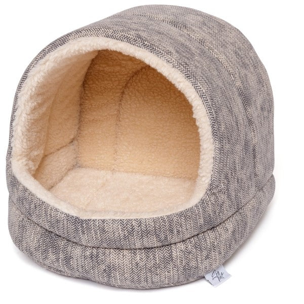 Leo Pet igloo para gatos 44 x 42 x 42 cm - PETTER