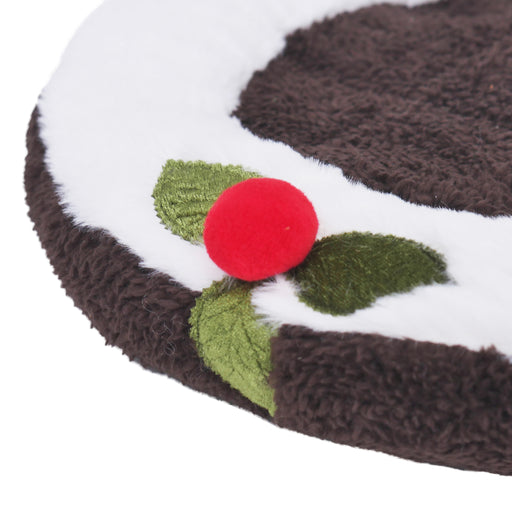 Christmas pudding snuggle bed Small ROSEWOOD NATAL