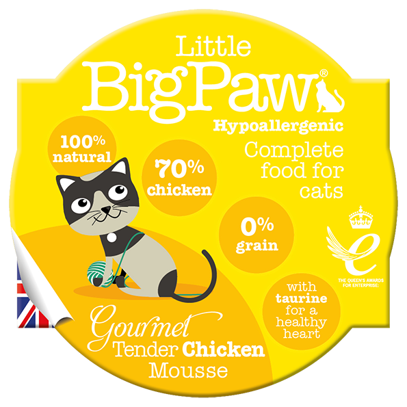 The Littlebig paw chicken mousse 85gr - PETTER
