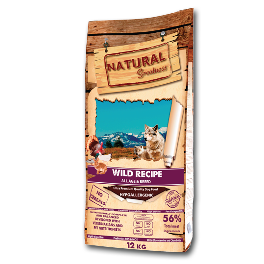Natural Greatness Wild Recipe - PETTER