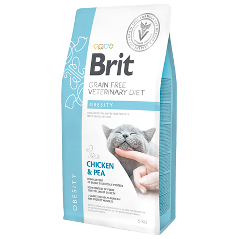 Brit grain free veterinary diet obesity cat - PETTER