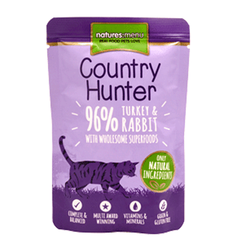 Country Hunter turkey & rabbit 85gr - PETTER