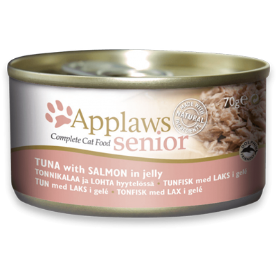 Applaws Senior Tuna with Salmon In Jelly 70g - PETTER