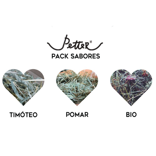 Pack sabores trio by PETTER - PETTER