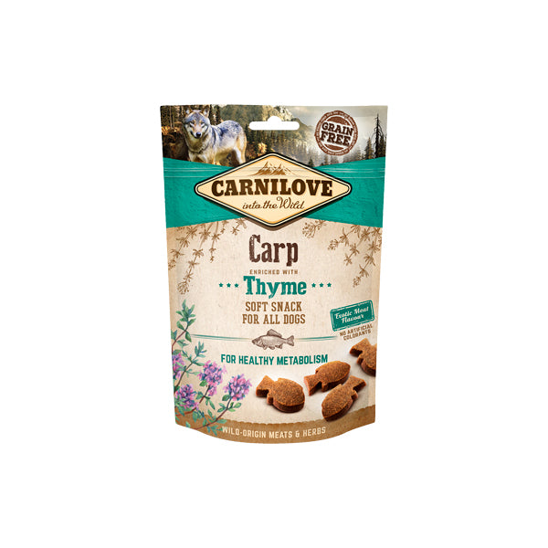 Carnilove Dog Soft Snack Carp With Thyme - PETTER