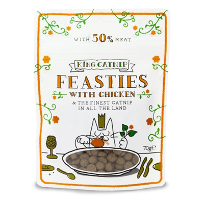 King catnip feasties with chicken 70gr - PETTER