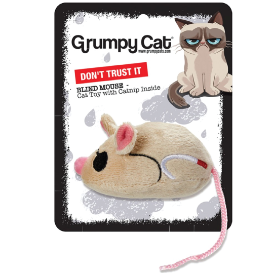"Brinquedo Gato Grumpy Cat ""Annoying Mice"" - PETTER"