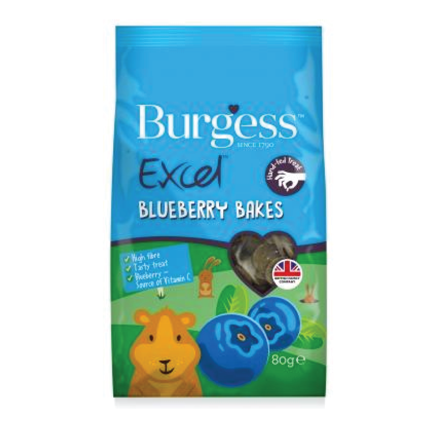 Burgess excel blueberry bakes 80gr - PETTER