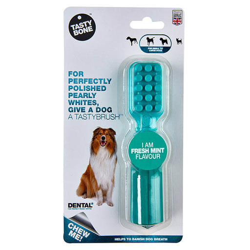 Tasty bone dental tastybrush fresh mint - PETTER