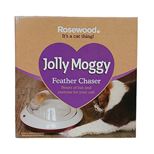 "Brinquedo gato ""Jolly Moggy Feather Chaser"" - PETTER"