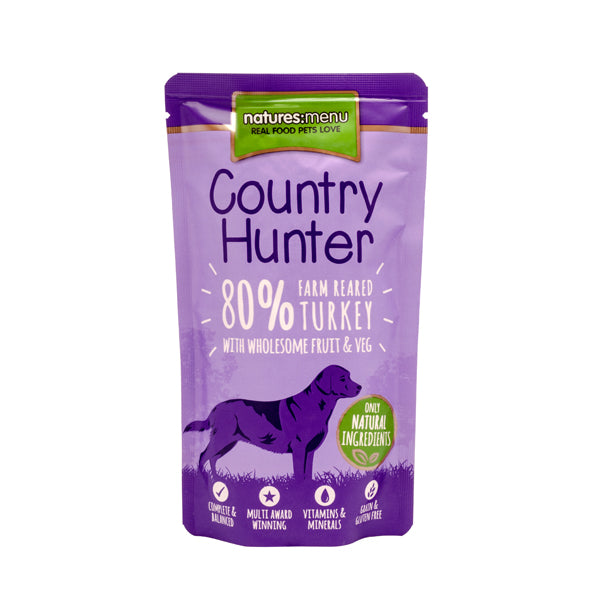 NM Country Hunter Saquetas Cão Peru 150g - PETTER