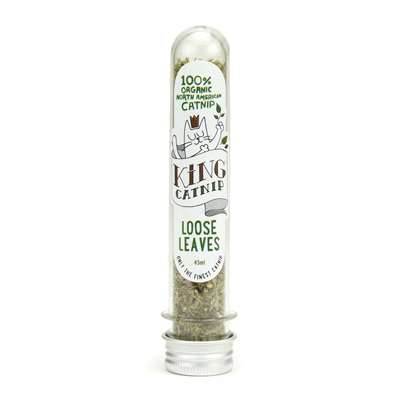 King catnip loose leaves 100% organic tube - PETTER